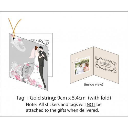 gift tag thank you card printing with fold 4 5cm w x 5 4 cm h