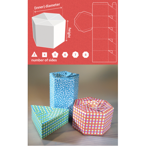 Triangular gift box cake ideas and designs