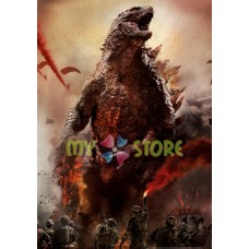 Movie Poster Printing Godzilla