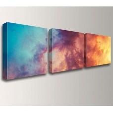 Photo Frame Canvas Wrap + Print : 3 Panels