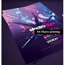 Flyer printing : A4