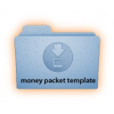 Money Packet (MP1)FREE template download